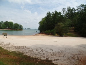 Shady Grove Community Beach area